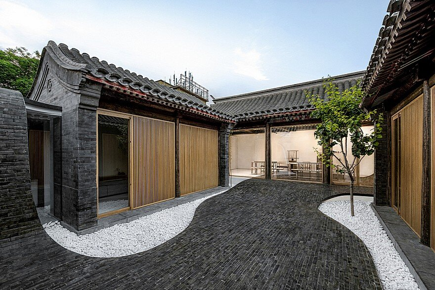 Traditional Siheyuan House in Beijing Inner City 1