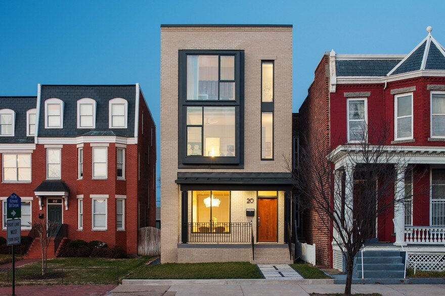 Urban Row House in Richmond's Historic Jackson Ward Neighborhood