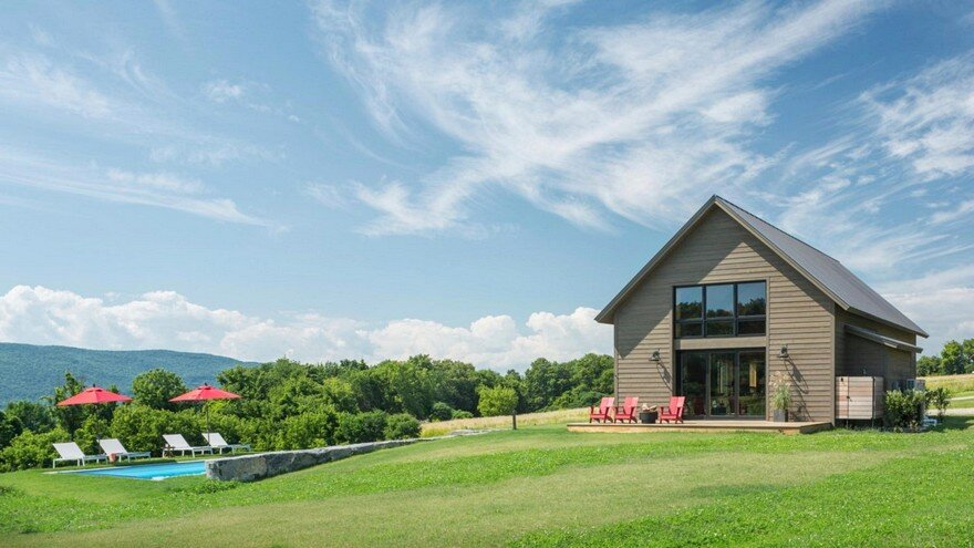 Vermont Modern Barn by Joan Heaton Architects 14