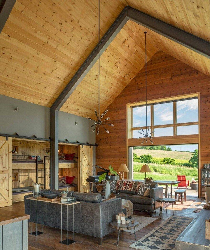 Vermont Modern Barn by Joan Heaton Architects 3
