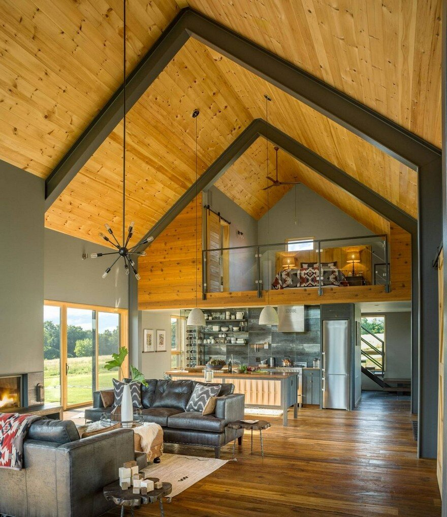 Vermont Modern Barn by Joan Heaton Architects 6