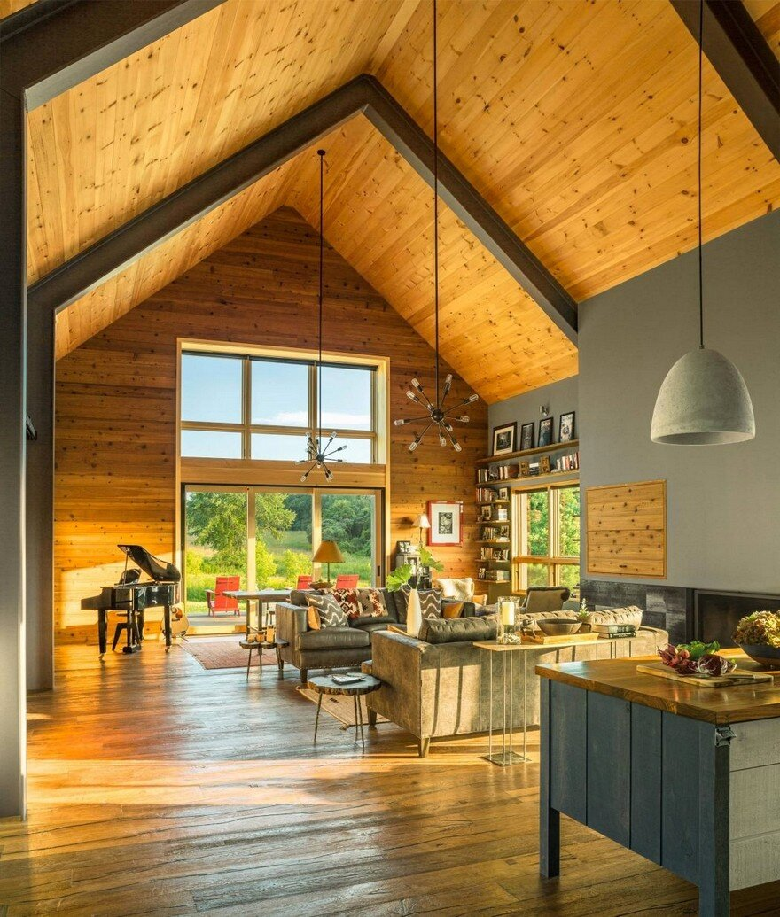 Vermont Modern Barn by Joan Heaton Architects 9