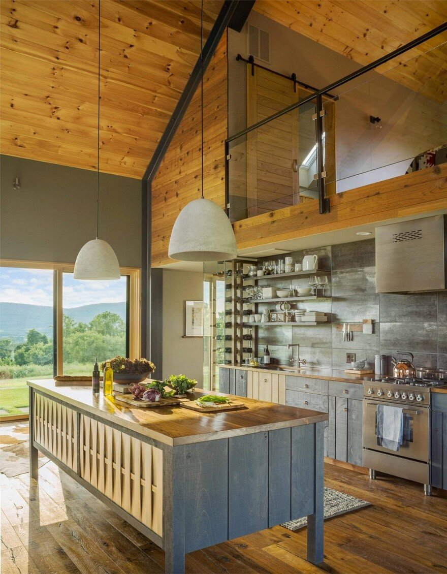 Vermont Modern Barn by Joan Heaton Architects 7