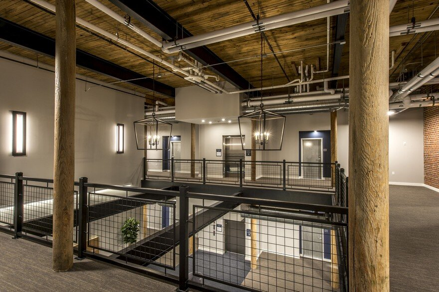 Adaptive Reuse and Restoration of a Historic Building Features 57 Modern Lofts 6