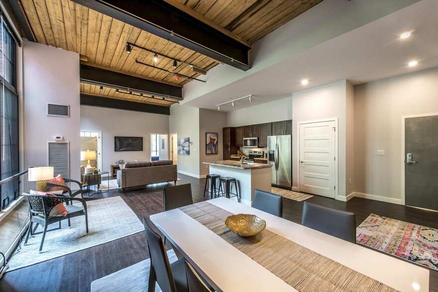 Adaptive Reuse and Restoration of a Historic Building Features 57 Modern Lofts 12