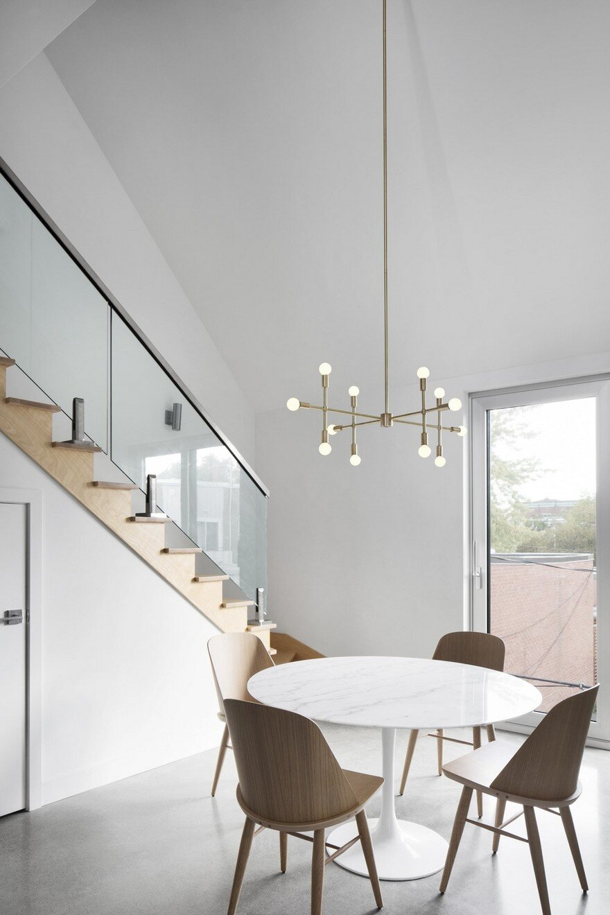 Contemporary Residential Building of Five Housing Units: La Géode by ADHOC Architects 8