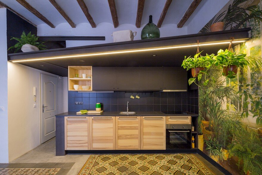 Double Bedroom Apartment Renovation in the Barcelona's Gothic Quarter