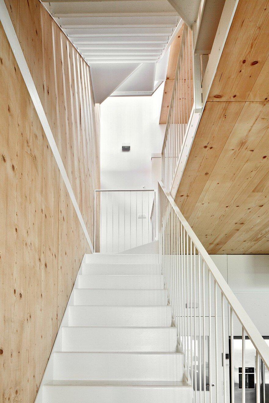 staircase, Vallribera Arquitectes
