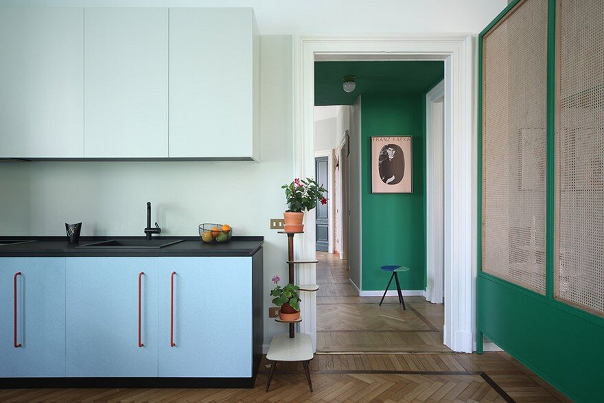 Le Temps Retrouvé: Renovation of an Apartment in the Center of Milan