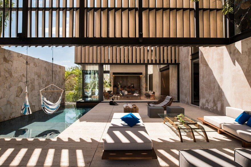 Modern Mexican House Evoking the Specificity of the Yucatan Peninsula 2