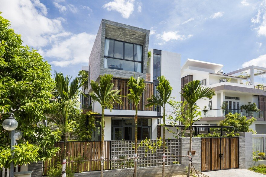 Modern Vertical Home Maximizes Light and Space in Nha Trang, Vietnam