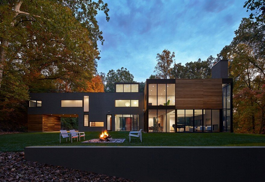 Mohican Hills House by Robert M. Gurney in Maryland