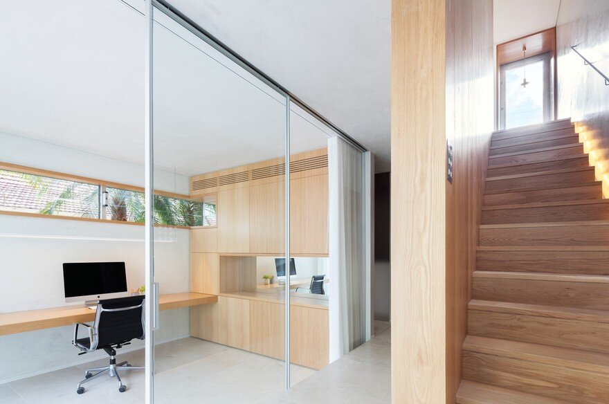 home office, staircase, Marston Architects 4