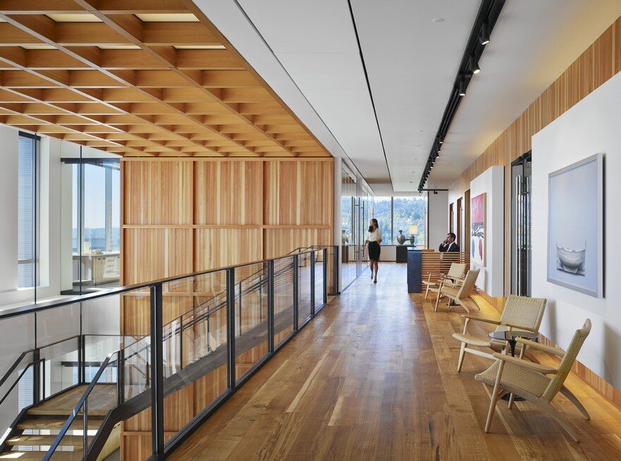ZGF Architects Designed the Offices of Law Firm Stoel Rives LLP