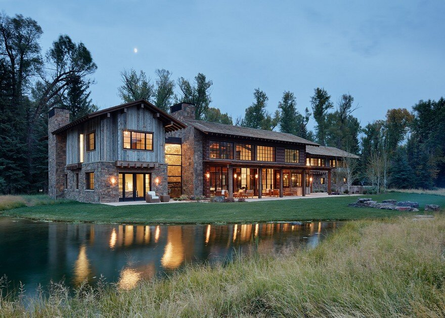 Owl Ditch Ranch in Wyoming / Carney Logan Burke Architects