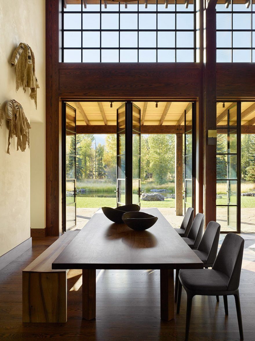 Owl Ditch Ranch in Wyoming / Carney Logan Burke Architects 6