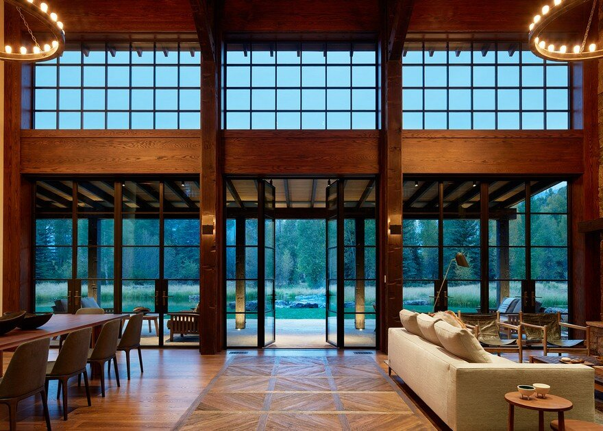 Owl Ditch Ranch in Wyoming / Carney Logan Burke Architects 3