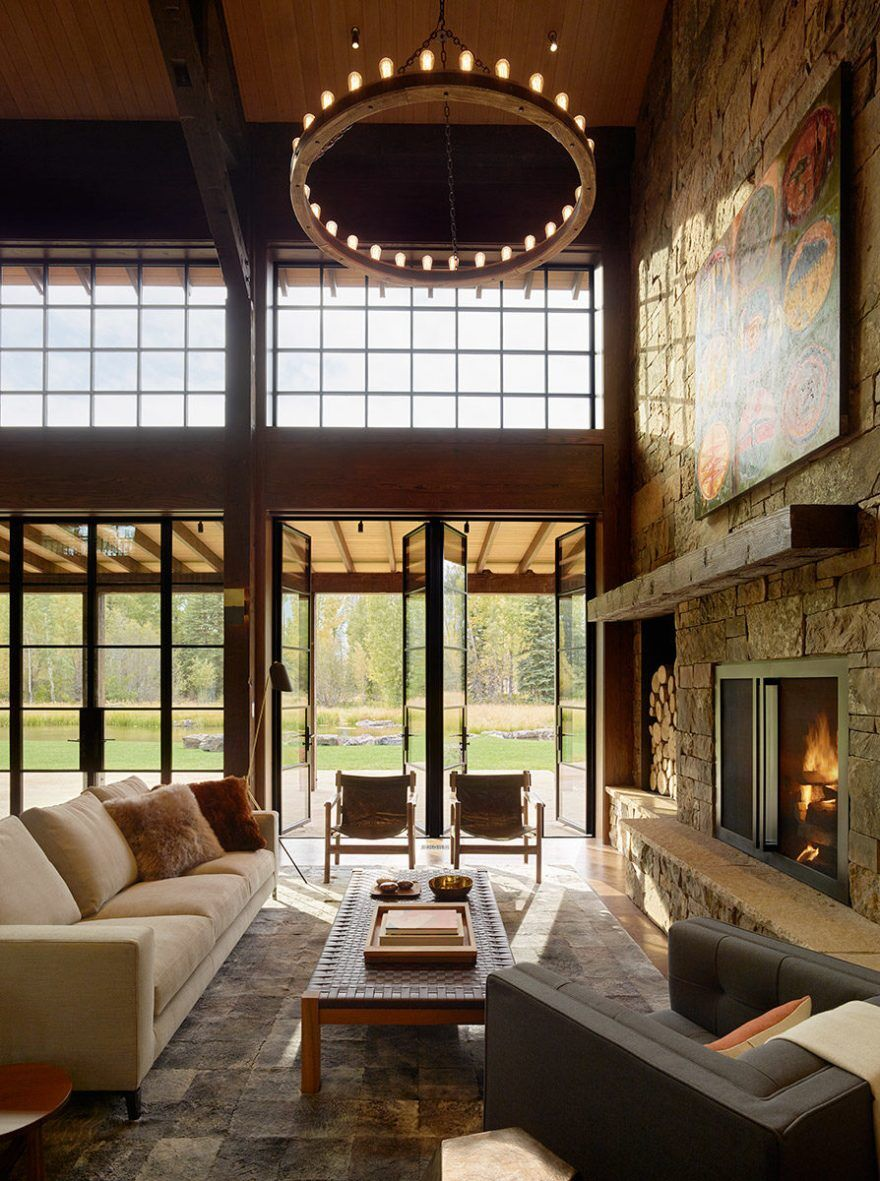 Owl Ditch Ranch in Wyoming / Carney Logan Burke Architects 4