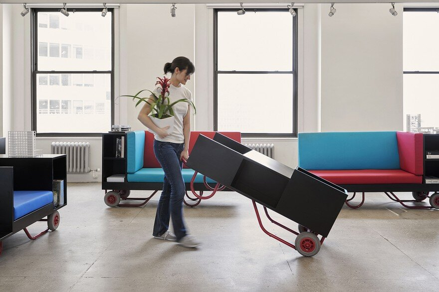 Pushcart Furniture Series for Cornell University, New York