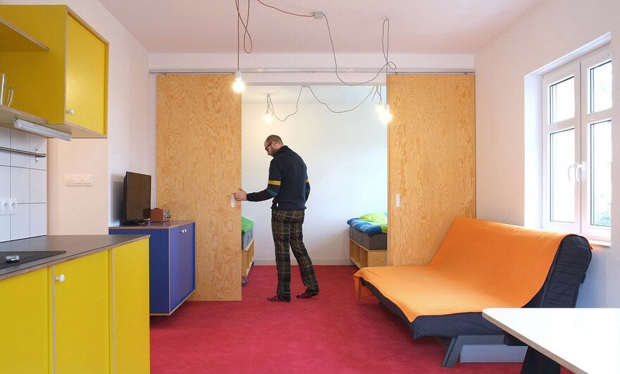 living room, Atelier Starzak Strebicki