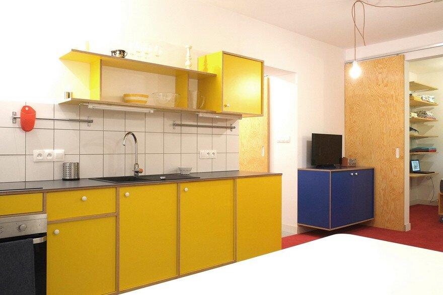 kitchen, Atelier Starzak Strebicki