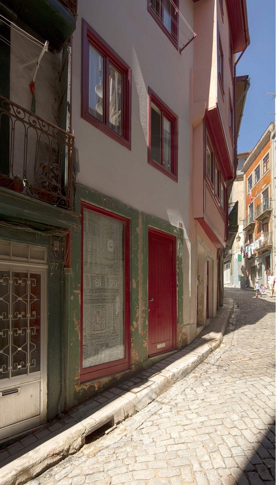 Rehabilitation of a Small Historic House in Porto, Portugal
