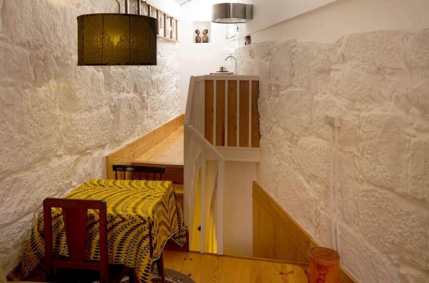 Rehabilitation of a Small Historic House in Porto, Portugal