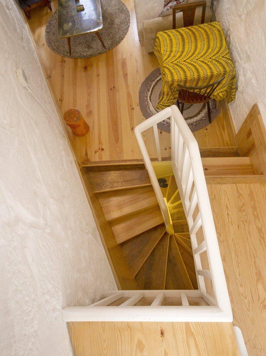 staircase, Paulo Moreira Architectures