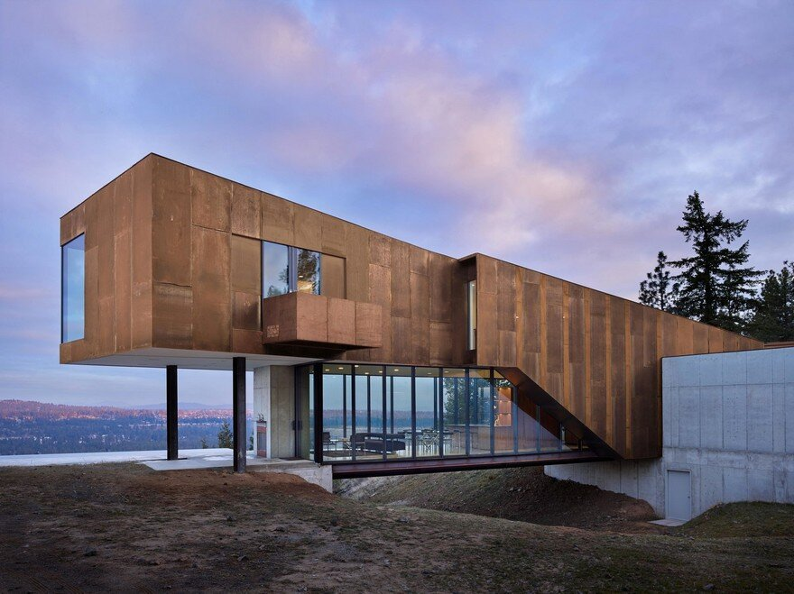 Rimrock – Impressive Modern House in Washington by Olson Kundig