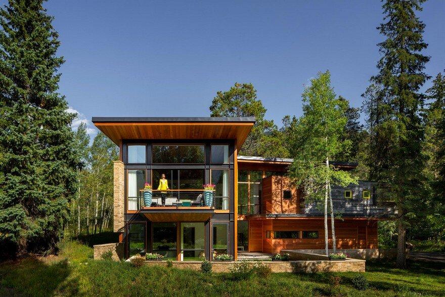 Schultz House – Impressive Architecture and Delighting Interior Design in Colorado