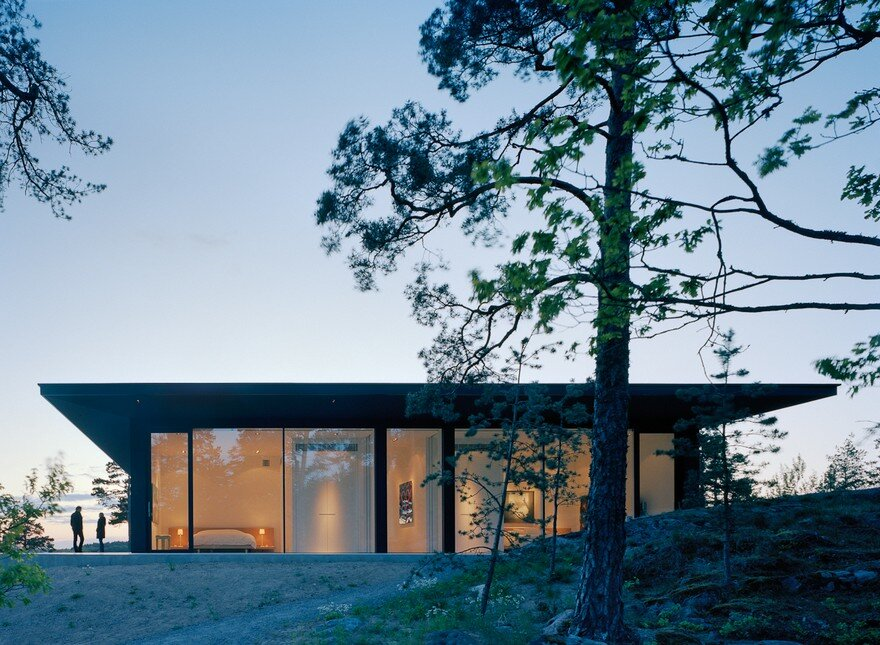 The Glass House in Stockholm Archipelago 17