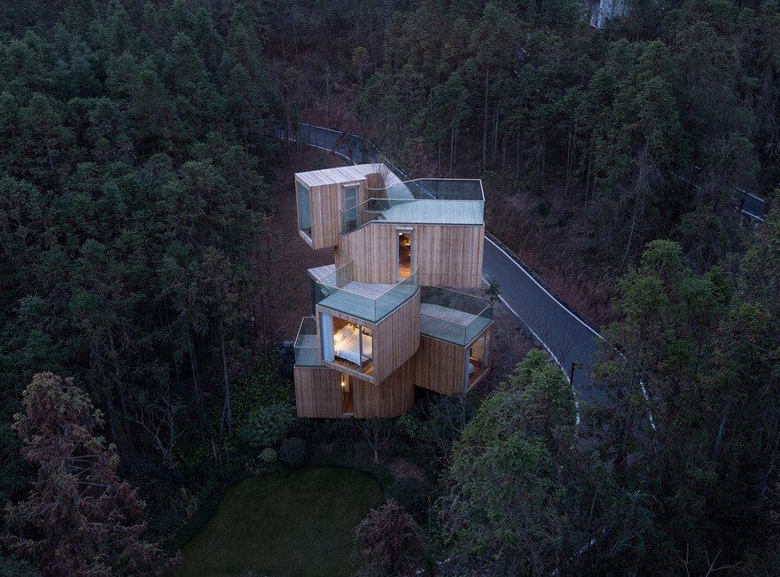 Tree House Hotel in China - Qiyunshan by Bengo Studio