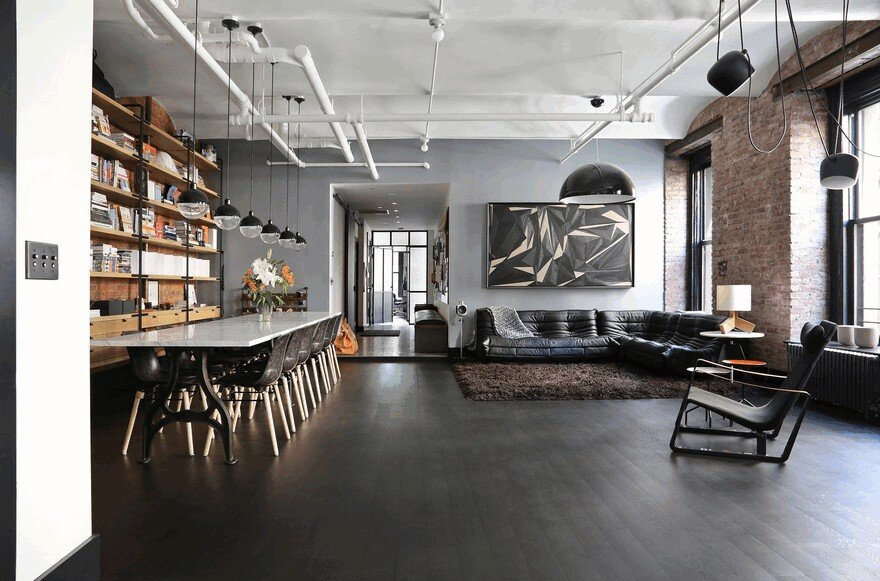 1903 Noho Factory Converted into Industrial Loft-Style Home