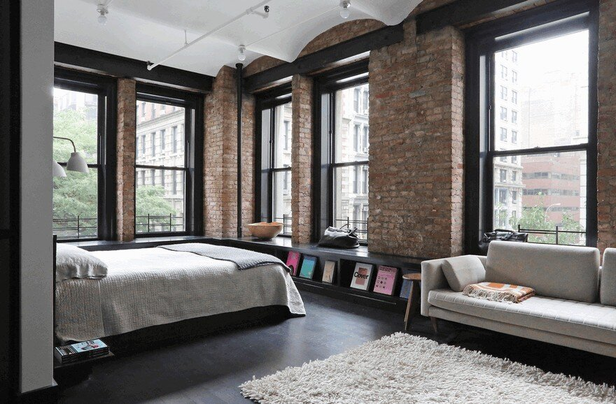 1903 Noho Factory Converted into Industrial Loft-Style Home 10