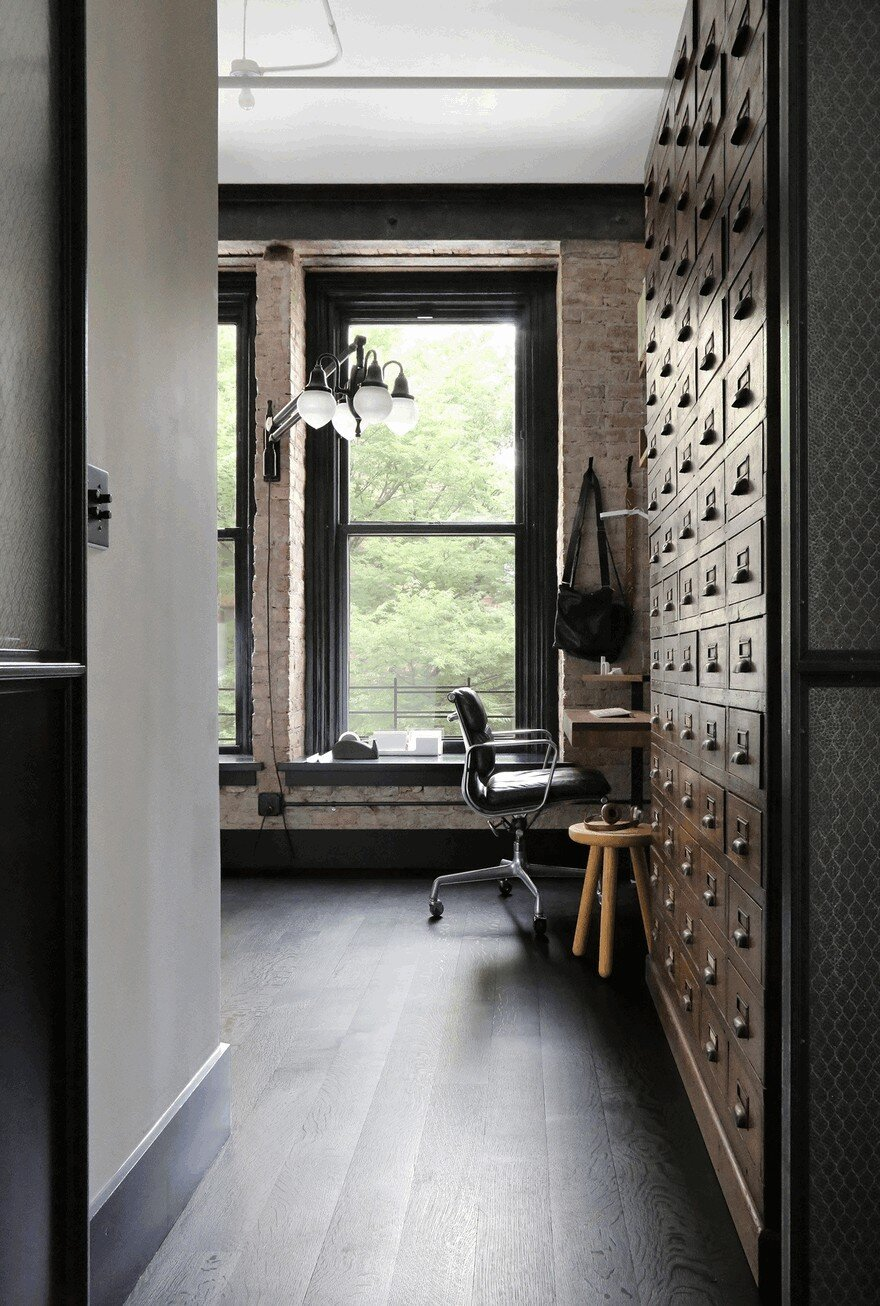 1903 Noho Factory Converted into Industrial Loft-Style Home 15