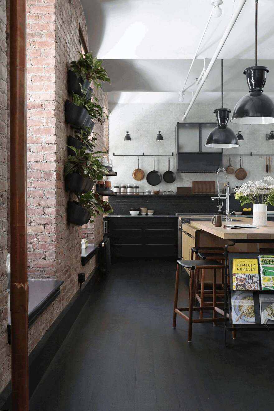 interior design kitchens 1903 noho factory converted into industrial loft style home 1903