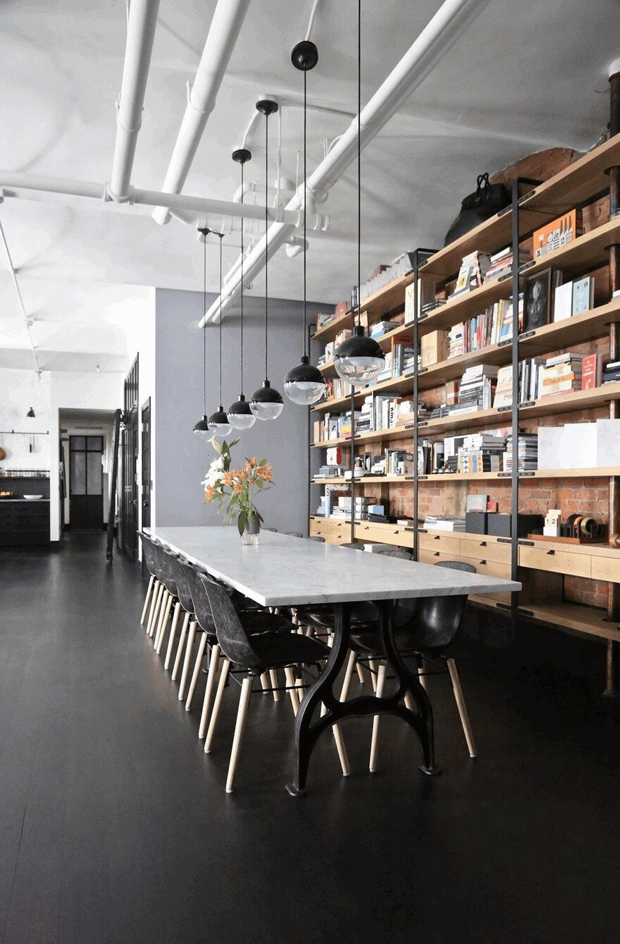 1903 Noho Factory Converted into Industrial Loft-Style Home 8