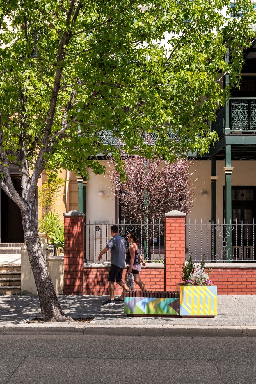 65 Planter Boxes Painted by Australian Artists Have Been Installed in Perth to Revitalize the City 2