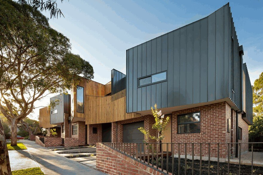 Alphington Townhouses by Green Sheep Collective 3