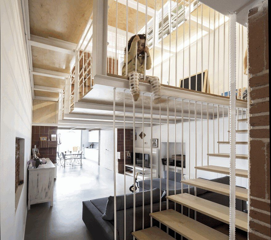 Blacksmith Workshop Turned into a Family Home in Badalona, Spain 3