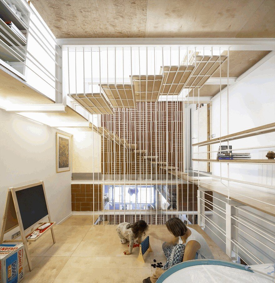 Blacksmith Workshop Turned into a Family Home in Badalona, Spain 5