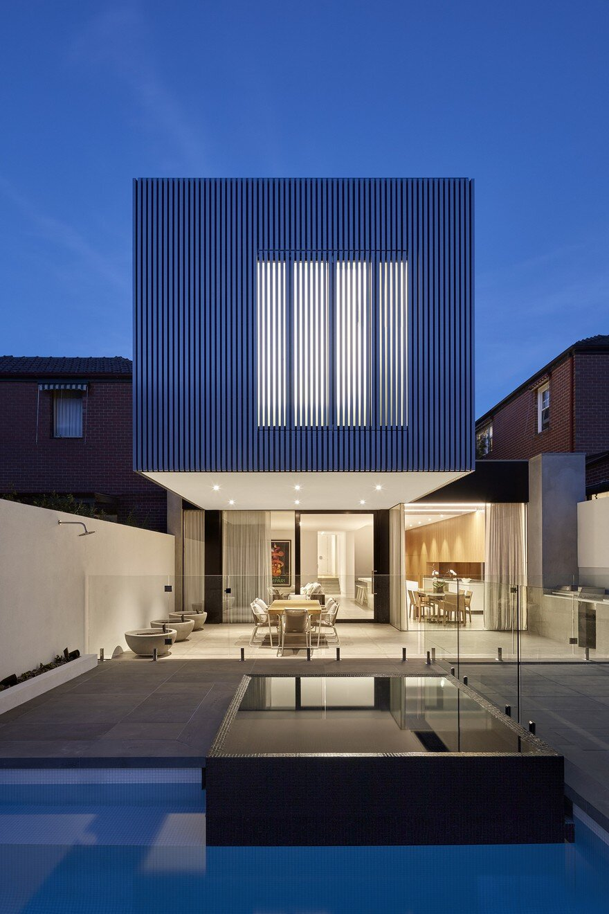 Impressive Extension to a Three Bedroom Private Residence in Melbourne