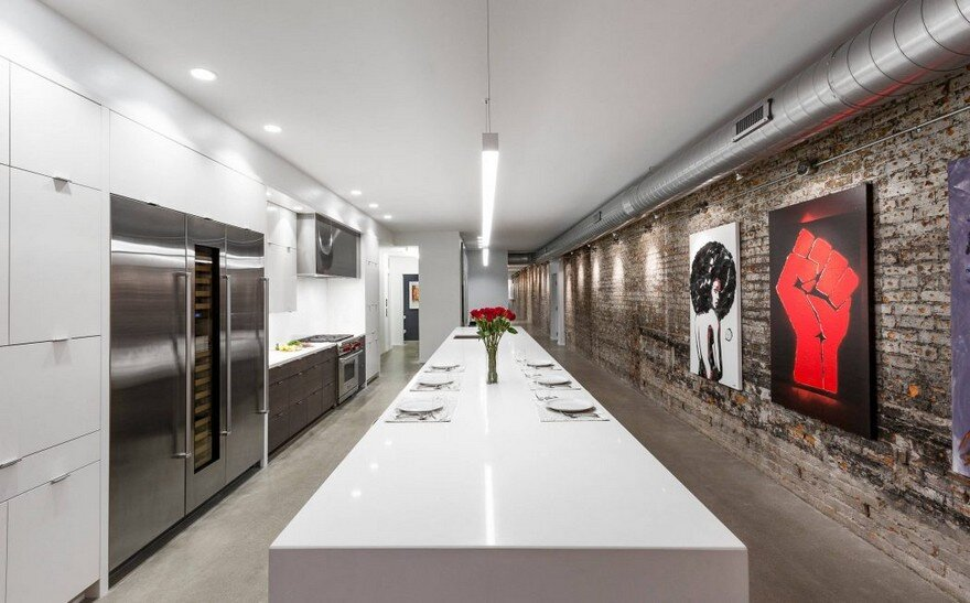 This Modern Cincinnati Loft Features an Industrial Refined Aesthetic