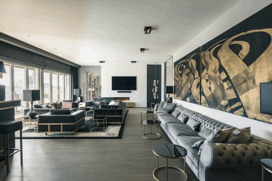 Monbijou Penthouse in Berlin-Mitte, Germany 1
