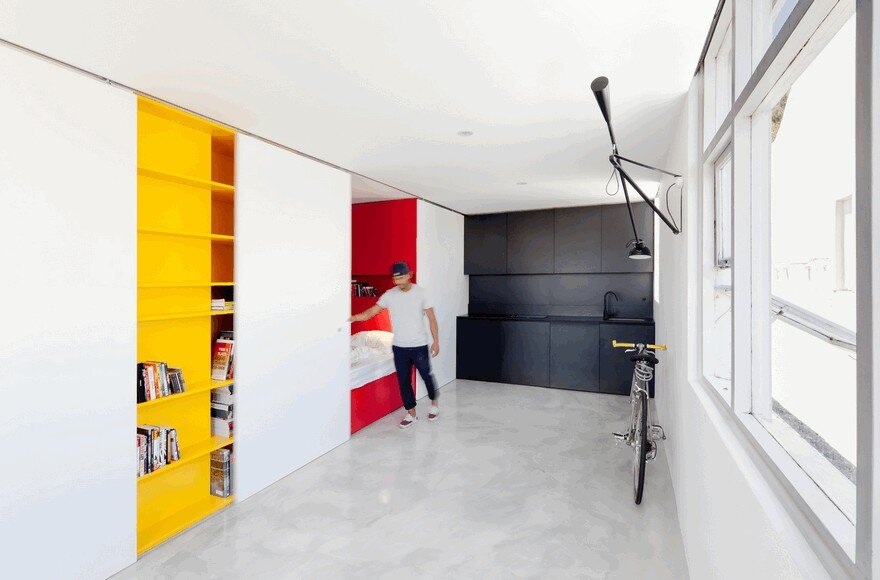 One-Room Apartment in Sydney Displaying an Optimized 27sqm Surface 2