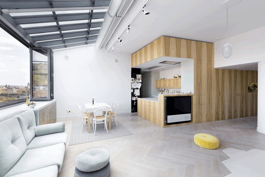 Onyx Moon Loft in Prague by A1 Architects