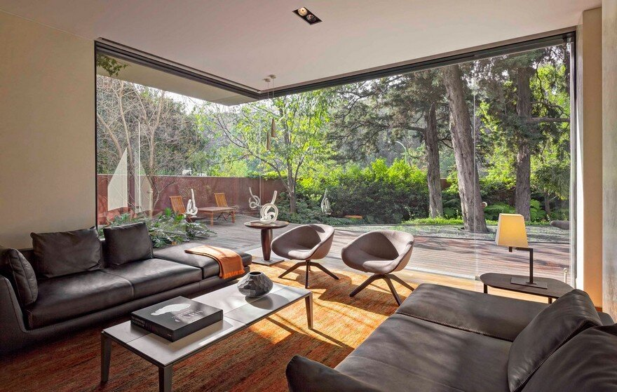 Private Contemporary Home in Mexico Showcasing Bright Interior Spaces