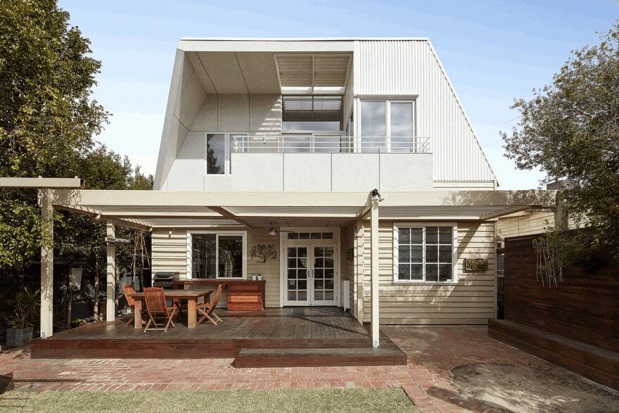 Second Storey Sustainable Extension to Californian Bungalow in Northcote