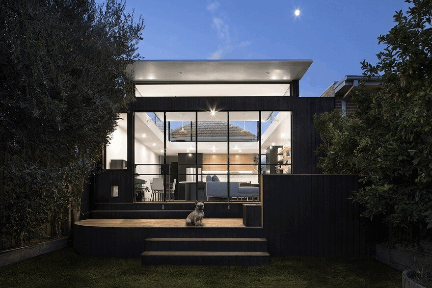 The Roof Of This New Northcote House Curves Upwards To Provide Sunlight 12