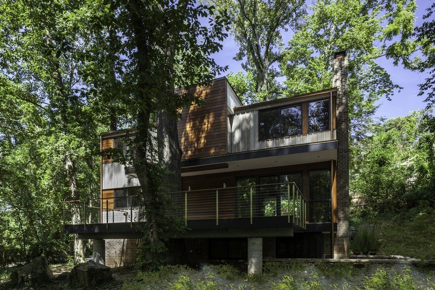 Bethesda House in Maryland / Gardner Architects